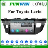 "Funwin Android 4.4.2 10.1"" car multimedia system in dash car dvd player for Toyota LEVIN prado android with WIFI 3G"