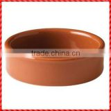 Ecological custom glazed terracotta decorative tableware