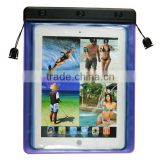 Popular trendy waterproof plastic pouch gel belt clip case for 7 inch tablet pc