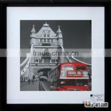 City scenery picture framed prints with glass