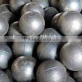DIA 20-150MM forged grinding steel ball for ball mill / forged and cast grinding steel ball price