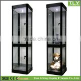 Clear Glass Display Cabinet Vitrine Figurine Showcase
