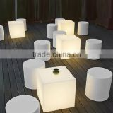 Outdoor Waterproof led cube color changing furniture/swimming pool outdoor and Wedding Rgb Led Dental Chair/Led Cube Light