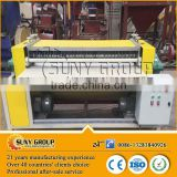 Scrap radiator tube peeling machine/AC radiator recycling machine for aluminum copper recovery