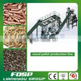 Professional Factory price wood chips pellet production line sawdust pelleting machinery plant