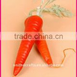 2011 New ARRIVAL Design Most Popular Natural artificial carrot vegetable