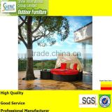 Outdoor Furniture Garden Furniture Wholesale Sunbed Sun Lounger Rattan Daybed With Canopy