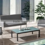 powder coated and teslin batyline sofa set