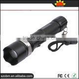 Wholesale High quality SS-911 XM-L T6 LED 5-Mode Rechargeable Focus Zoomable Flashlight