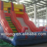 kids jumping inflatable equipment/Large Inflatable slide children sized pvc children inflatable slide for factory price