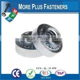 Made in Taiwan Aluminum or Stainless Steel Self Clinching Nuts