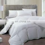 100% cotton comfortable home/hotel down duvet