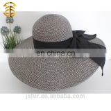 Factory Direct Cheap Price Plain Straw Hat for Women Lady