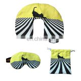 Wholesale travel kit for airline include inflatable pillow and eyemask
