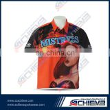 motorcycle racing suit full sublimation racing shirt wholesale sportswear men's clothing