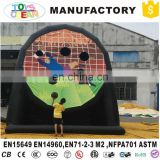 Inflatable football target/inflatable football shootout/inflatable football shoot game