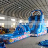 best quality commercial grade giant new design inflatable water slide for sale