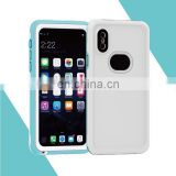 Detachable with Normal Mode and IP68 3m Depth Waterproof PC + TPU Case for iPhone X