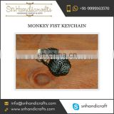 Handmade Monkey Fist Keychain Available at Best Price