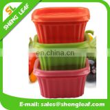 Camping silicone collapsible bowl Non-toxic serving fruits
