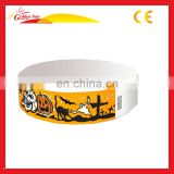 Plain & Printed 3/4 Tyvek Paper Wristband,Security, events, festival