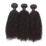 Tangle Free Indian Curly Human Russian  Hair No Chemical