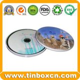 Metal CD Tin can with String for DVD Case Packaging