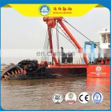 hydraulic cutter suction Dredger Ship 7000m3/h water flow