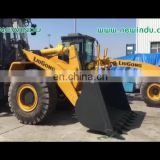 second hand 3t Liugong Wheel Loader small front end loaders CLG835 for sale