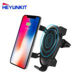 New product Shenzhen factory 10w wireless car charger  for Samsung iPhone fast wireless car charger