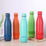 Best Selling Products Smart Water Bottle Bluetooth , New Design Stainless Steel 500ML Bluetooth Speaker Water Bottle/