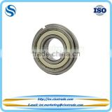 Single row deep groove ball bearing with filling slots and a snap ring with good quality and price
