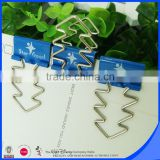 Company logo printing file folder fastener                                                                                                         Supplier's Choice