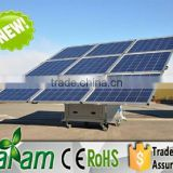 Mobile solar system 1500w solar cell for sale