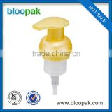 New bath foam liquid soap plastic sprayer pump