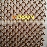 aluminium alloy TRANSPARENT STAINLESS STEEL CURTAIN PANELS for Architecture ,shopping malls, airport,office,room | generalmesh