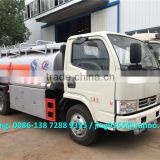 Low price small fuel tank truck, fuel tanker truck capacity 4,000 to 5,000 litres on sale in Burundi