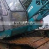 Hydraulic crawler crane kobelco p&h7055 55t crawler crane second hand japan made kobelco 55t crawler crane used kobelco 50t cran