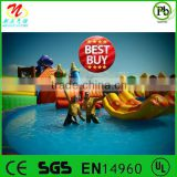 2014 best buy water cannon for water park inflatable water park design bulid