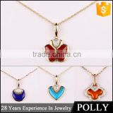 charm models wholesale fashion doll girlfriend gold heart meaningful pendant necklace