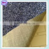 coating glitter PU leather fabric,coated glitter leather