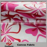 canvas fabric cheap/Good quality colorful cotton polyester fabric in stocks