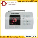 FCC/CE/RoHS Approved Economic Wireless 99 Defense Zones PSTN Fancy Home Alarm Security Equipment LED Display Wholesale
