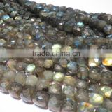 Labradorite Faceted Box new shape AA grade Gemstone bead strands
