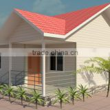 Earthquake resistance house for home reconstruction fast construction house prefabricated house