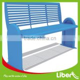 Plastic Public Seating Used Park Benches Chairs ,Park Benches With Steel Frame,Moden Park Bench,Leisure Bench LE.XX.071