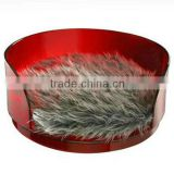 factory directly sale customized acrylic red dog bed