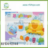 New plastic rail baby bath toys set new product bath toy