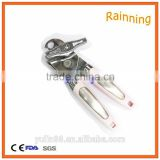 Factory Stainless Steel Can Opener, Easy Use Tin Can Opener