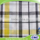 China supplier cotton madras plaid shirt fabric